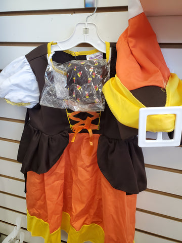 Size 2-3 Candycorn Witch costume