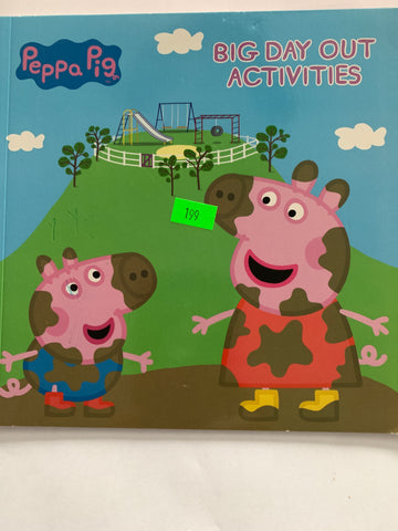 Peppa Pig Big Day out activities
