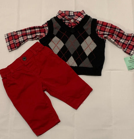 Size 0-3M Children's Place outfit