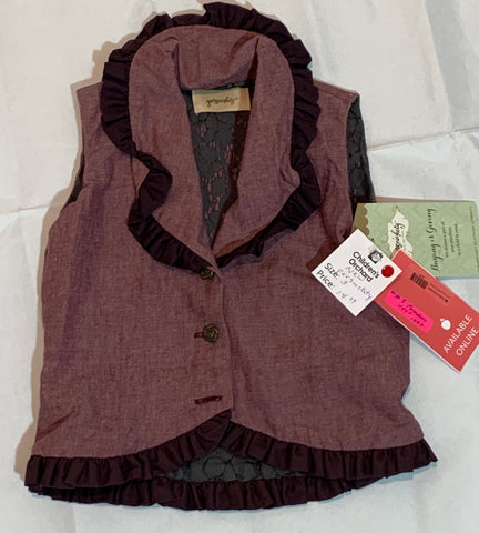 Size 3 Persnickety vest