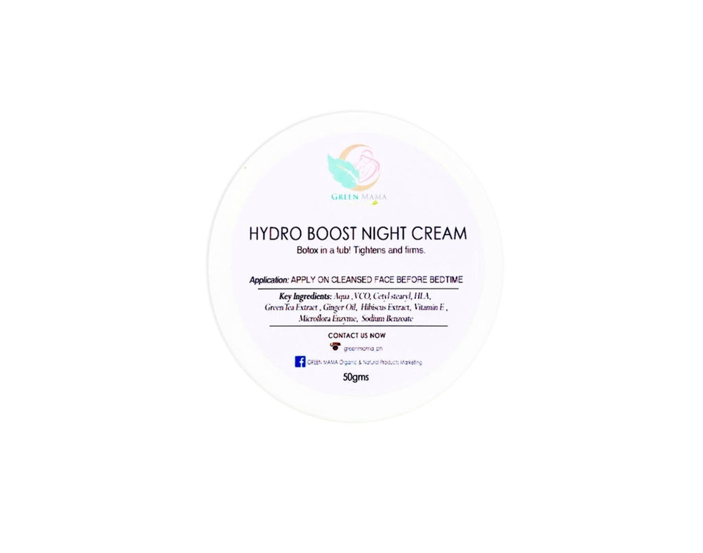 hydro boost night cream moisturizer