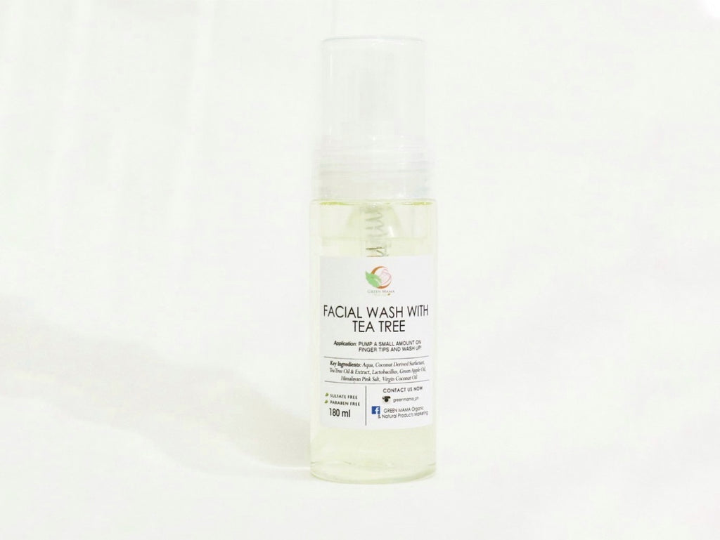 Facial Wash with Tea Tree and Aloe Vera