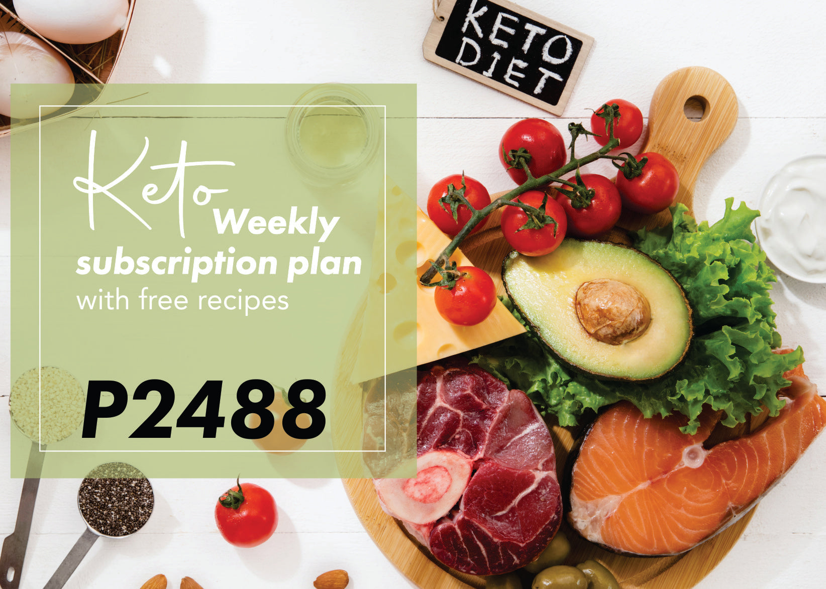 Keto Weekly Subscription Plan