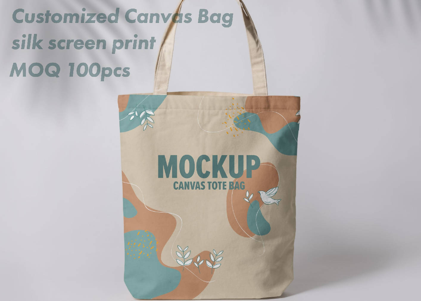 Canvas Bag with silk screen print