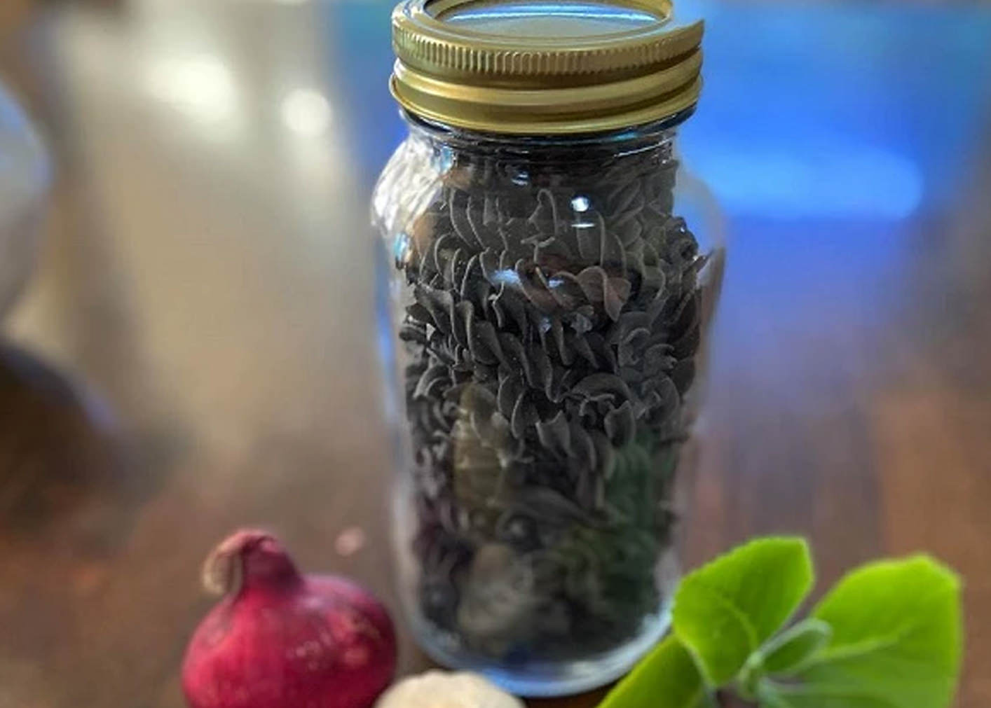 Vegan Pasta -  Activated Charcoal (Plant-based, Vegan)