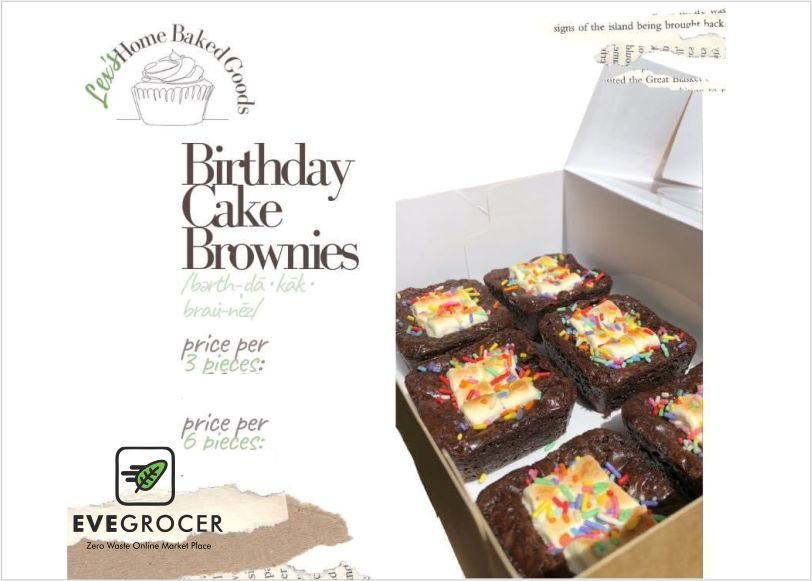 Birthday Cake Brownie