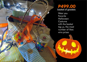 Virtual Trick or Treat small basket
