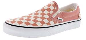 ,True White 07,,Black/White Checkerboard,,Black,,Black/Black09,,(Checkerboard)Gldnhztrwht,,(Checkerboard)Blmirgtrwht,,(Checkerboard)Silvertrwht, Vans Unisex Walking Skate Shoes Vulcanized Rubber Classic Slip On