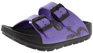 ,Black, Gravity Defyer Women Shock Absorbing Ortho-Theraputic Sandals UpBov
