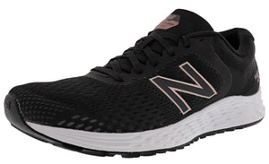 ,Black/Purple, New Balance Women's Fresh Foam Running Shoes Arishi v2