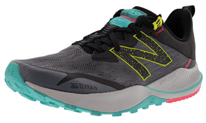 ,Saturn Pink/Natural Indigo,,Black/Moon Dust, New Balance Women Nitrel v4 Lightweight Trail Running Shoes
