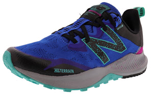 ,Saturn Pink/Natural Indigo,,Black/Moon Dust,,Lead/Tidepool, New Balance Women Nitrel v4 Lightweight Trail Running Shoes