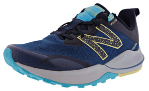,Saturn Pink/Natural Indigo,,Black/Moon Dust,,Lead/Tidepool,,Light Blue/Guava,,Logwood/Ocean Grey, New Balance Women Nitrel v4 Lightweight Trail Running Shoes