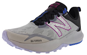,Saturn Pink/Natural Indigo,,Black/Moon Dust,,Lead/Tidepool,,Light Blue/Guava,,Logwood/Ocean Grey,,Rogue Wave/Black/Lemon Haze, New Balance Women Nitrel v4 Lightweight Trail Running Shoes