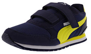 Puma Kids ST Runner v2 Mesh Hook And Loop V PS Shoes