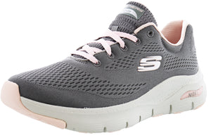 Skechers Women Lightweight Running Shoes Arch Fit Big Appeal