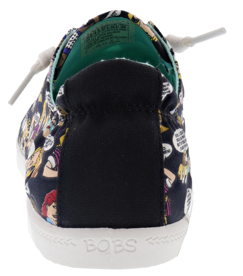 Skechers Bobs Women's Beach Bingo- Pin Up Pup Memory Foam Walking Shoes