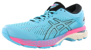,Black/AsicsBlue25,,Carbon/MidGrey25,,White / White 25, ASICS Women Walking Stability Cushioned Running Shoes Kayano 25