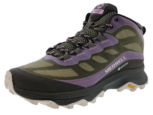 Merrell Women's Moab Speed Mid GTX Hiker Trail Running Shoes
