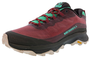 ,Black, Merrell Women's Moab Speed Hiker Trail Running Shoes
