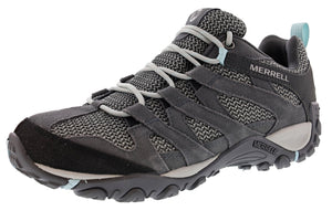 ,Aluminum, Merrell Women's Alverstone Suede Upper Hiking Trail Running Shoes