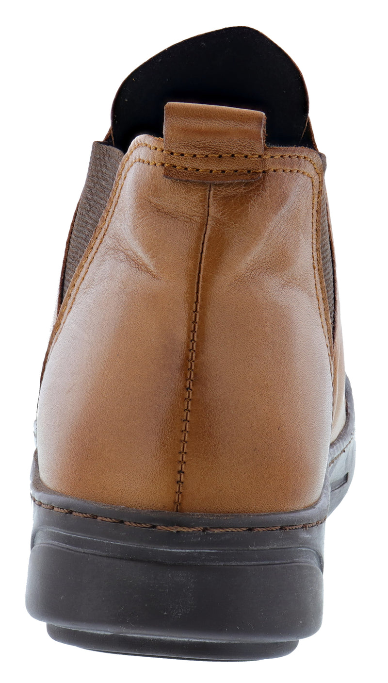 Spring Step Women's Leather Booties Cherly