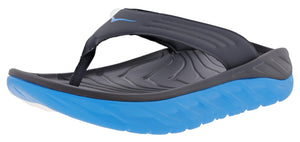 ,Black/Dark Gull Grey107,,Ombre Blue/Fiesta, Hoka One One Men Lightweight Stress Reduce Sandals Ora Recovery Flip