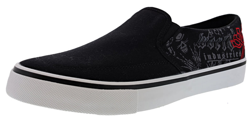 World Industries Men's Ripper Classic Slip On Skate Shoes