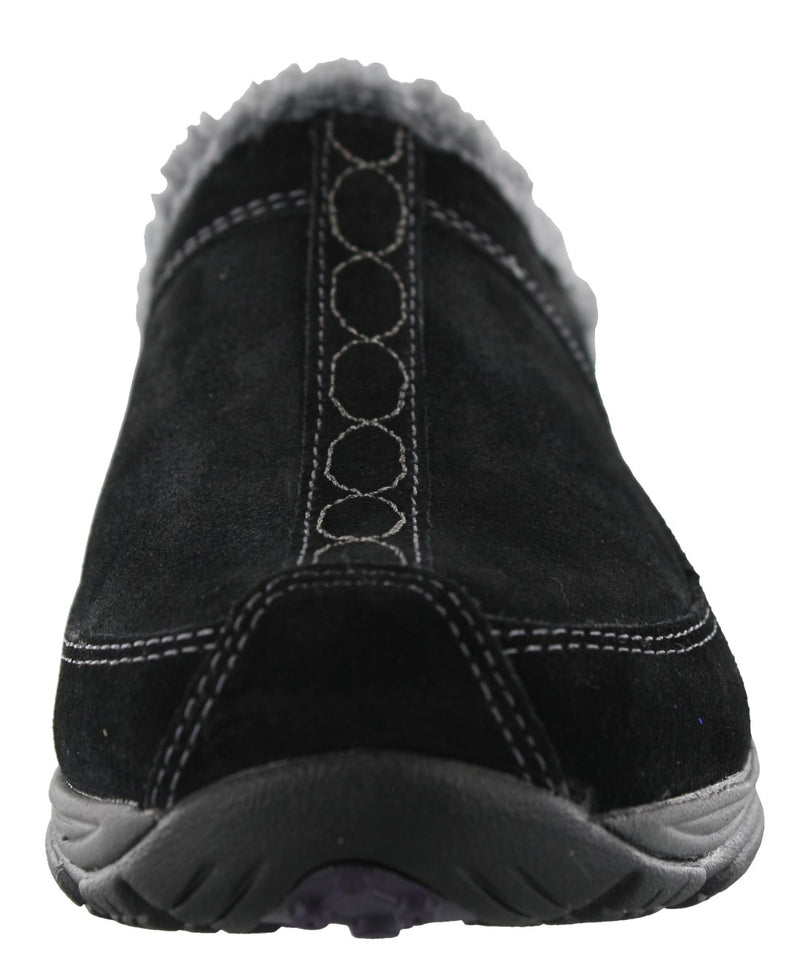 Easy Spirit Women Warm Cozy Slip On Clog Slippers Exchange