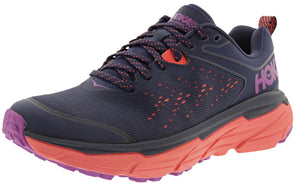 ,Provincial Blue/Saffron,,Cascade/Ombre Blue, Hoka One One Women's Challenger ATR 6 Trail Running Shoes