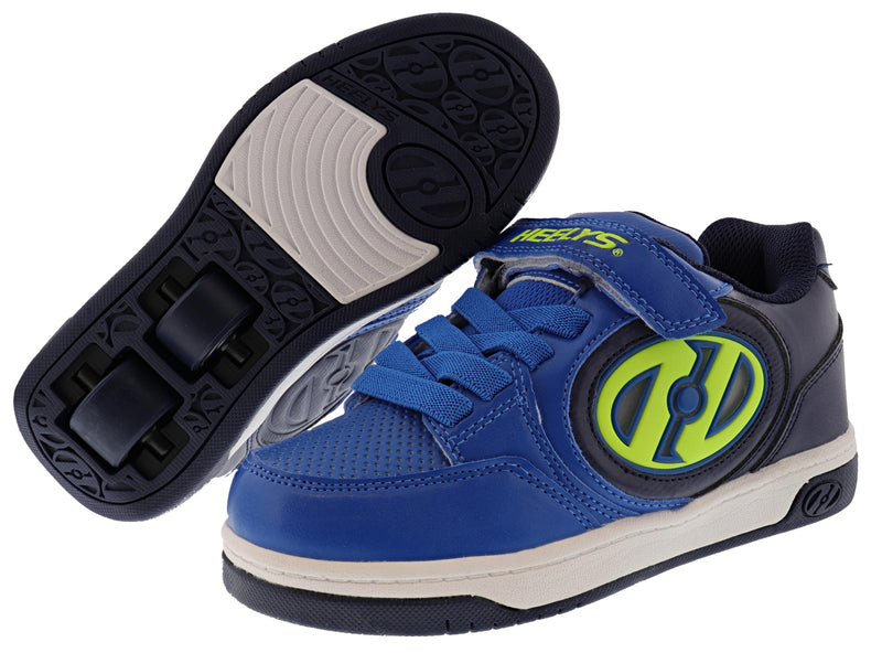 Heelys Kids Plus X2 Lighted Wheeled Skating Shoes