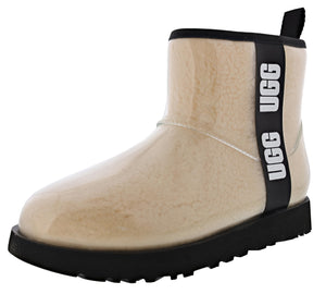 ,Rock Rose, UGG Women's Classic Clear Mini Waterproof Boots