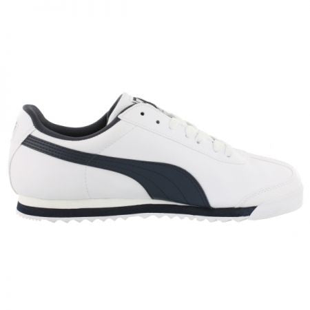 Puma Men Roma Classic White Retro Shoes