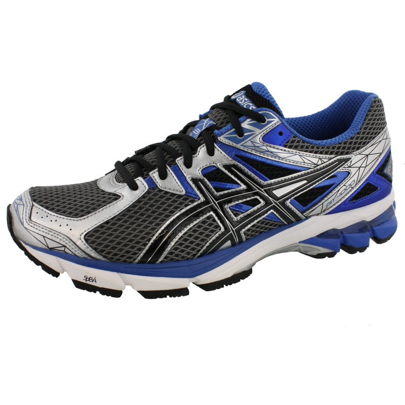 ASICS Men Cushioned Wide Width 2E Running Shoes GT 1000 3