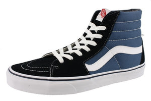 Vans Mens Hi Top Walking Skate Shoes Vulcanized Rubber Sole Sk8-Hi