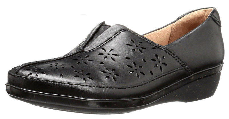 Clarks Womens Slip On Easy On And Off Dress Casual Flats