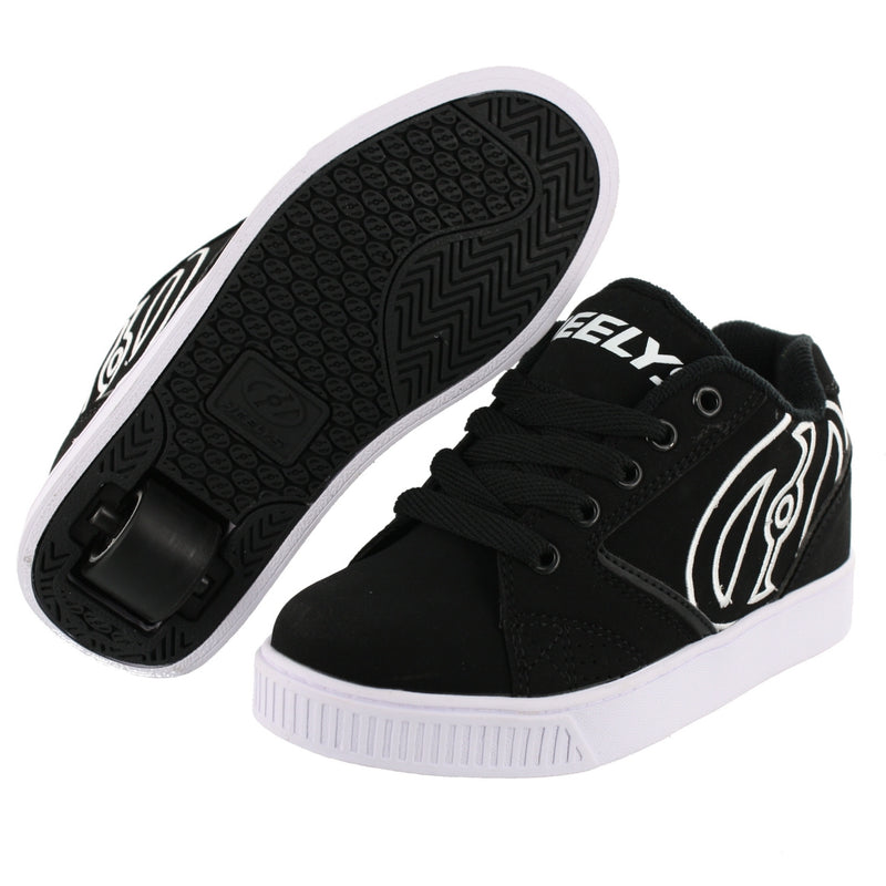 Heelys Mens Skateboard Wheeled Shoes With Wheels Easy On Shoes Propel