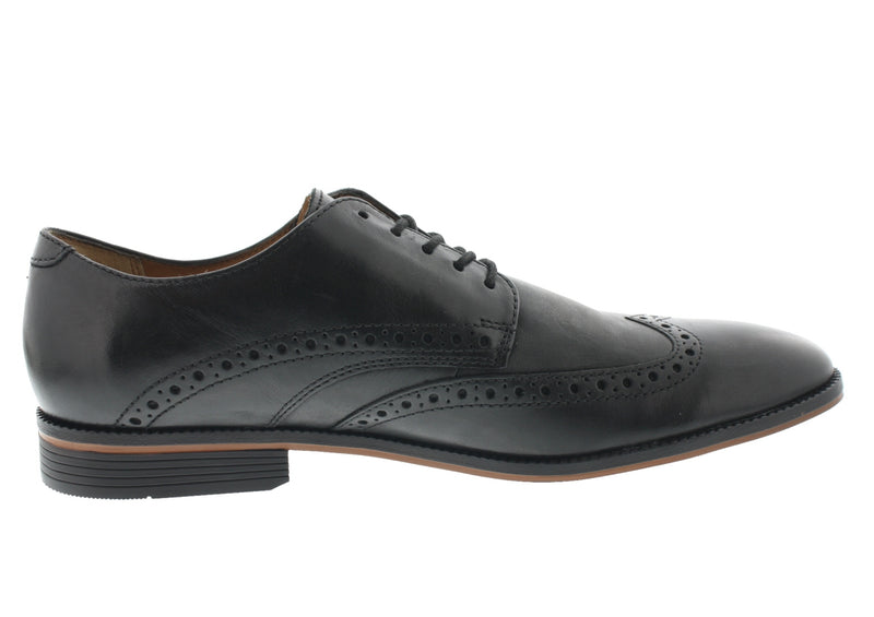 Clarks Men Dress Oxfords Lace Up Office Lightweight Easy On And Off Shoes