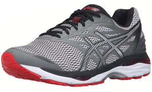 ,White/Silver/Black,,Imperial/Yellow/Black, ASICS Men Walking Trail Cushioned  Running Shoes Cumulus 18