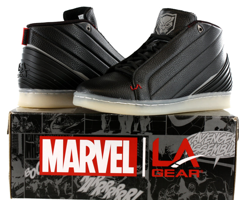 Marvel Mens Black Panther Vibranium Mid Athletic Shoes