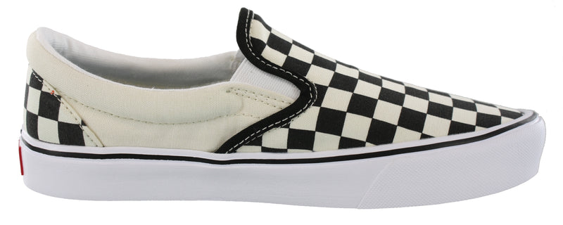 Vans Mens Walking Skate Canvas Shoes Classic Slip On Lite