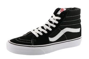 ,Navy321012, Vans Mens Hi Top Walking Skate Shoes Vulcanized Rubber Sole Sk8-Hi
