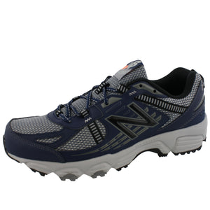 ,Black/Silver, New Balance Men Trail Running Sneakers 410 Wide Width 4E