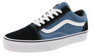 ,True White32,,Black/Checkerboard,,Black/True White Suede,,Black/White Canvas, Vans Mens Walking Skate Shoes Vulcanized Rubber Sole Old Skool