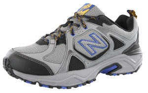 ,Black/Mag Silver,,Grey/Mag BlackLC3, New Balance Men Trail Running Sneakers 481 Wide Width