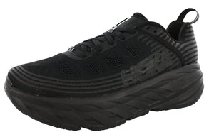 ,Alloy/SteelGrey, Hoka One One Men Ultra Marathon 2E Wide Running Shoes Bondi 6