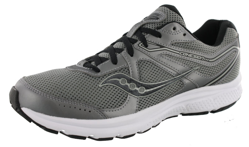 Saucony Mens Lightweight Running Shoes Grid Cohesion 11