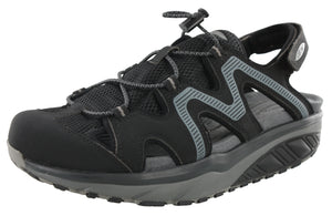 MBT Men Rocker Bottom Recovery Trail Walking Sandals Jefar 6