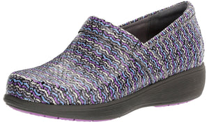 ,Black/Silver079, Grey Anatomy by Softwalk Meredith Sport Nursing Clogs