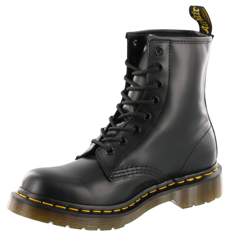 Dr. Martens Mens AirWair Air Cushion Sole Durable 8 Eye Leather Boots